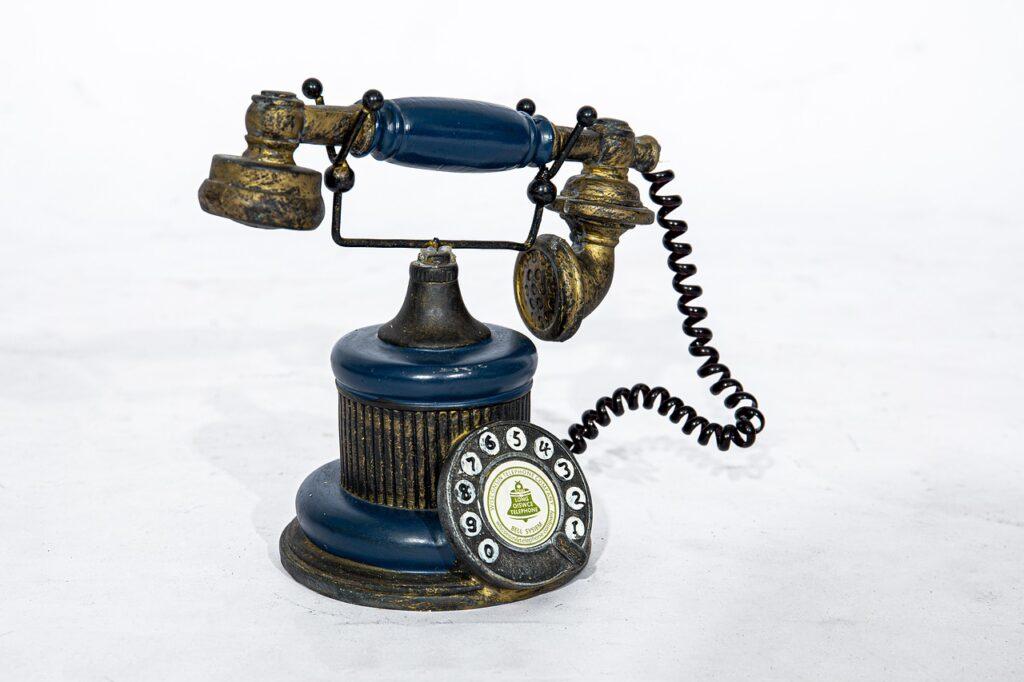 old phone, phone, vintage